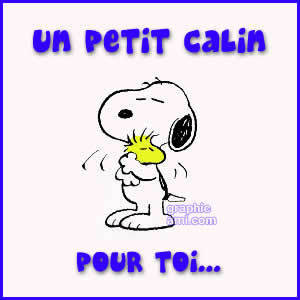 Snoopy-et-woodstock-se-font-un-calin